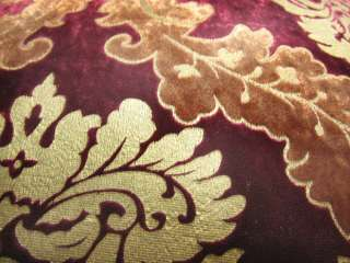 Embroider Aster Velvet Cushion/Pillow/Throw Cover*Custom Size*