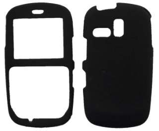 Samsung R355c STRAIGHT TALK MIRROR Case Cover Skin Black Rubberized