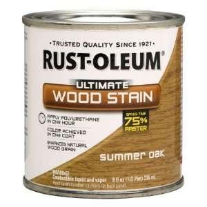 Rust Oleum 260360 Ultimate Wood Stain, Half Pint, Summer