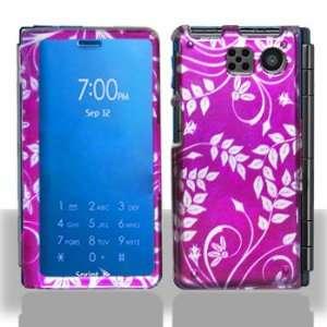 Sanyo 6780 Innuendo Purple Flower Case Cover Protector