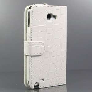 / Crocodile Pattern Leather case / Cover / Skin / for Samsung Galaxy