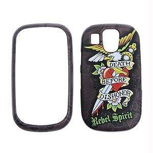 Rebel Spirit   Death Before Dishonor with rubberized finish   Tattoo