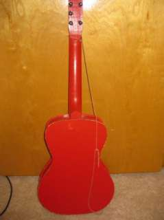 1956 Range Rhythm Roy Rogers Toy Guitar in original box