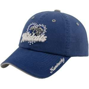 the World Kentucky Wildcats Royal Blue Ladies True Love Adjustable Hat
