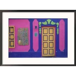 Colorful Paint, Gran Roques, Los Roques, Venezuela Collections Framed