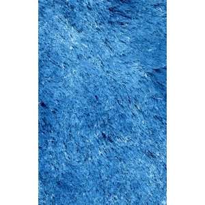 LA Rug Inc RUSILK0208 65 Silky Shag Collection 2 Feet by 8