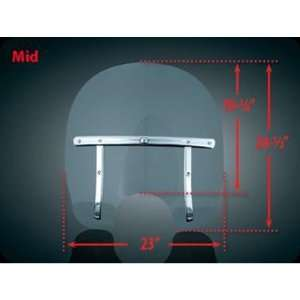 Medium Clear Quick Release Windshield For Harley Davidson Automotive