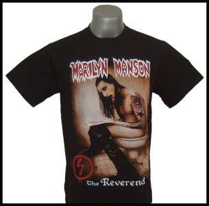 Marilyn Manson The Reverend T shirt Size S, M, L,XL