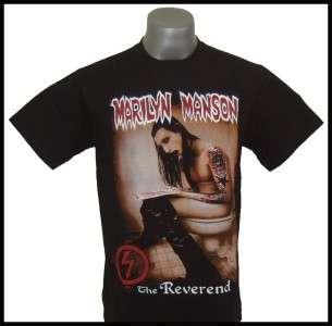 Marilyn Manson The Reverend T shirt Size S, M, L,XL