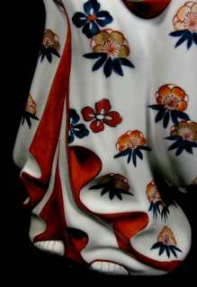 Incredible Beauty Ko Imari Porcelain Doll