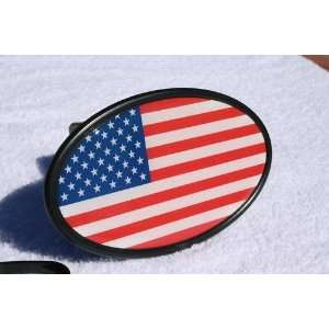 UNITED STATES of AMERICA Trailer Hitch Cover OVAL Style