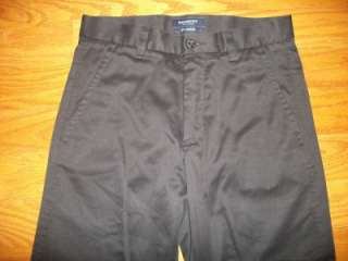 MENS MENS BOYS DOCKERS D1 SLIM FIT BLACK KHAKI CASUAL PANTS 28 29X28