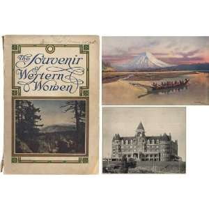 Souvenir Of Western Women Mary Osborn, Editor Douthit Books