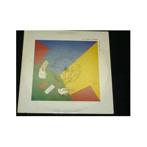 Signed John, Elton 21 At 33 Album Cover