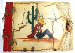 Rancho Craft Handmade Blank Book Carved Wood Covers