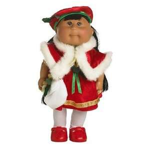 Patch Kids Mini Dolls   Holiday Collection   Hispanic Girl in Red