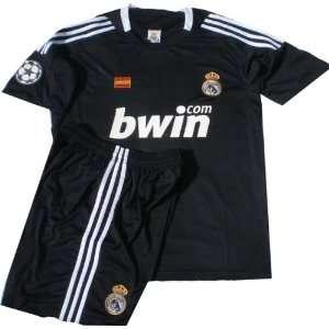SPAIN Real Madrid (Jersey & Short) BLACK (Mens)  Sports