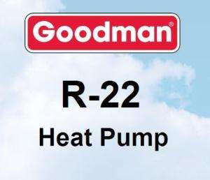 ton Goodman R22 GSH13 Heat Pump Condenser GSH130361