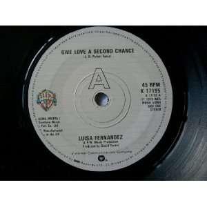 LUISA FERNANDEZ Give Love a Second Chance 7 Luisa Fernandez Music