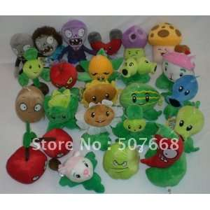 soft toys plants vs zombies pvz toy 14cm 19cm 300pcs/lot Toys & Games