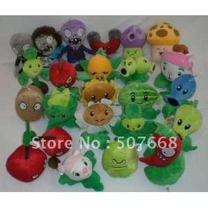 soft toys plants vs zombies pvz toy 14cm 19cm 300pcs/lot Toys & Games