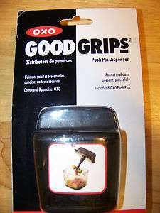 OXO Good Grips Push Pin Dispenser w/Magnet Grabber
