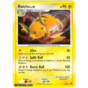 Raichu (Pokemon   Diamond and Pearl Stormfront   Raichu