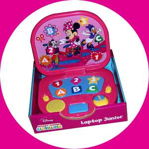 Minnie Mickey Mouse Club House Begin Learning Laptop Girls Baby