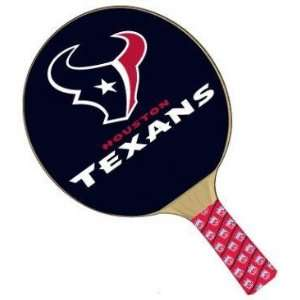 Houston Texans NFL Table Tennis/Ping Pong Paddles Sports