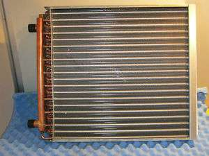 Hot Water Duct Coil/Heat Exchanger nominal 20 X 20