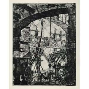 1967 Print Prisons Giovanni Battista Piranesi Etching