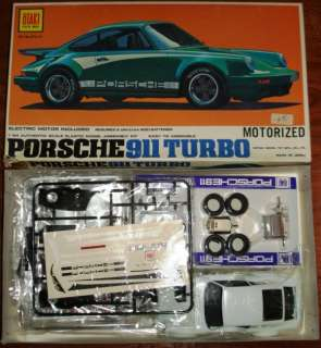 Otaki 124 Porsche 911 Turbo Motorized #71