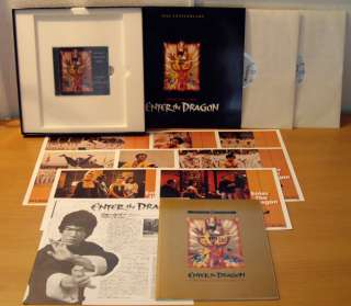 Japan LD Box Bruce Lee ENTER THE DRAGON '73 Pictorial, Cards, CD