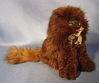 POMERANIAN DOG FRENCH DOLL ACCESSORIES ANTIQUE 1920 R1