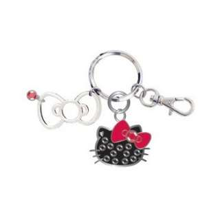 Sanrio Hello Kitty Face Key Chain with Box  Polka Dot