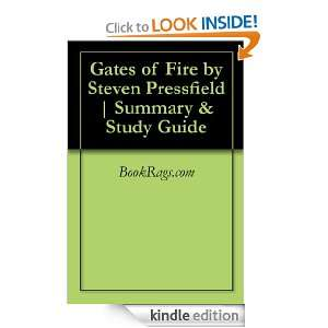 Gates of Fire by Steven Pressfield  Summary & Study Guide BookRags