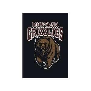 Montana Grizzlies 33 x 45 Team Door Mat: Sports