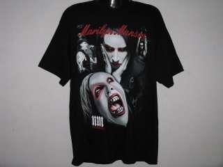 NEW MARILYN MANSON METAL ROCK MENS T Shirt Size M