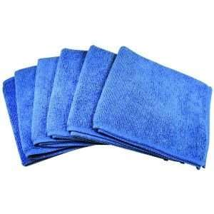 FIBER6 ULTRA ABSORBENT MICROFIBER CLEANING CLOTHS 6 PK