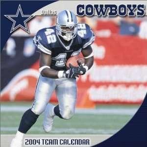 : Dallas Cowboys 2004 16 month wall calendar (9781403801753): Dallas