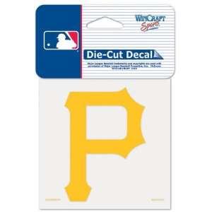 Pittsburgh Pirates 4x4 Die Cut Decal