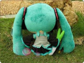 Vocaloid Hatsune Miku Stuffed Cute Plush doll 11 27cm