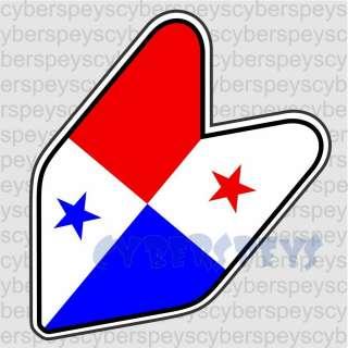 Panama Flag Vinyl Decals/Sticker JDM