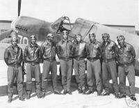 The Tuskeegee Airmen 1940s Air Force WWll Black Flier
