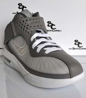 Nike Air Max Soldier V 5 zoom flywire grey mens basketball shoes