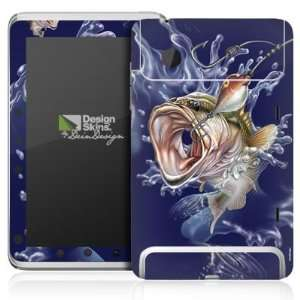 Design Skins for HTC Flyer   Fishing Design Folie