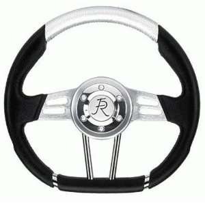 Flaming River FR20136FB Steering Wheel Fiber Force 1 3.4in Automotive