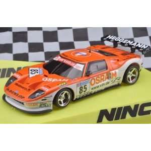 Ninco Analog Slot Cars  Lightning   Ford GT R Osram   No. 85 (50593