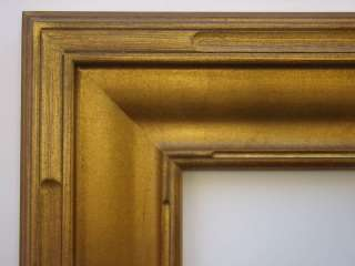 Hand Carved Antique Gold Plein Air Frame Up To 24x30
