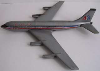 American Airlines Airplane 1960s Plastic Model Kit Toy